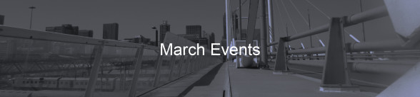 March Newsletter - March Events